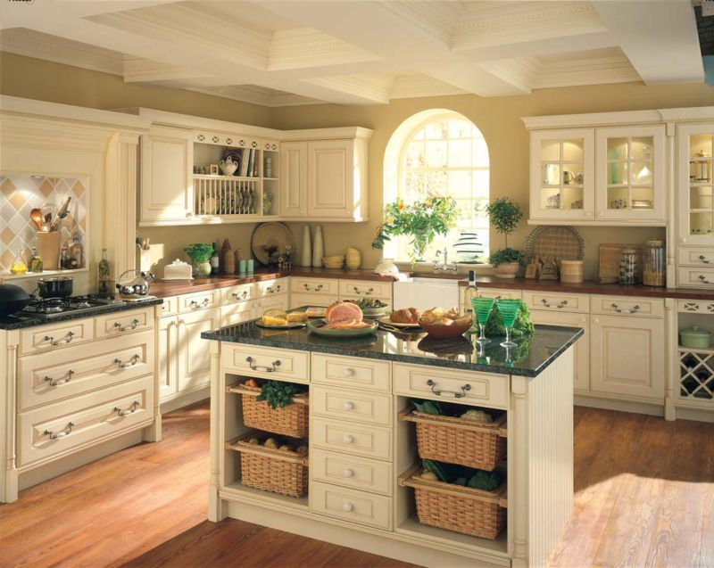 elegant-country-style-kitchen-island-from-country-style-kitchen-cabinets