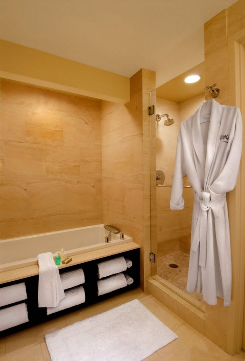 enchanting-brown-small-bathroom-shade-with-perfect-rectangular-bathtub-integrate-finest-enclosure-shower-with-glass-door-ideas-idea-for-small-bathrooms-bathroom-wonderful-images-of-idea-for-small-bath