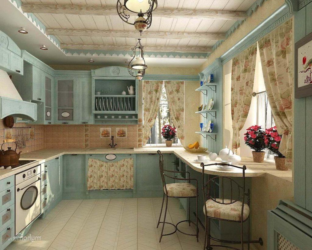 Стиль прованс кухня