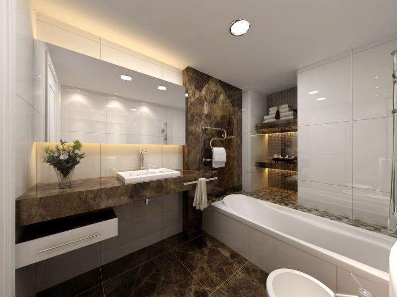 furniture-interior-bathroom-elegant-home-decor-small-bathroom-design-ideas-with-amazing-pure-white-interior-scheme-and-flexible-open-storage-in-corner-near-unique-stainless-steel-rack-towel-wall-moun