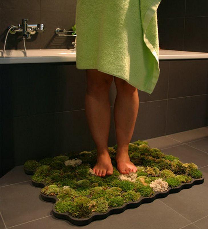 Коврик в ванную своими руками