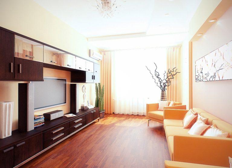 Дизайны интерьера двухкомнатных квартир