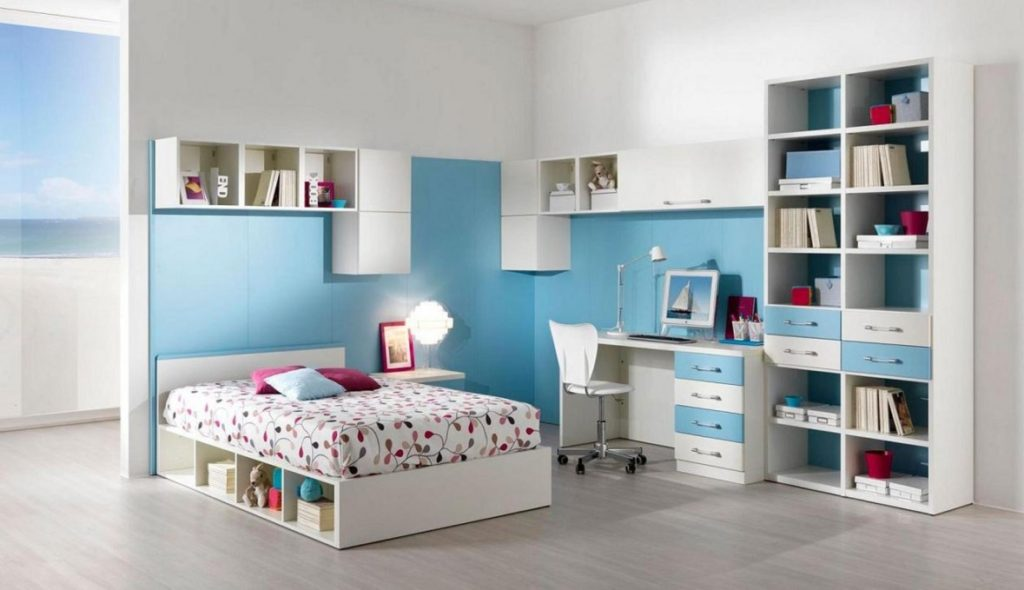 Modern teen bedroom decorating ideas