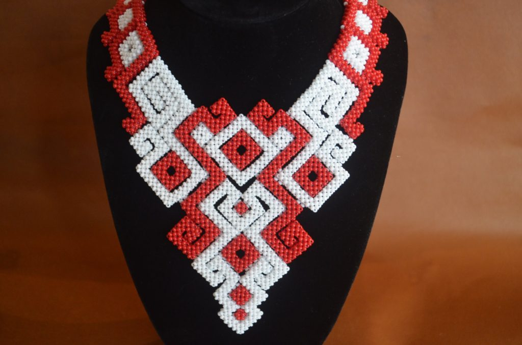 Ожерелья из бисера мастер классы