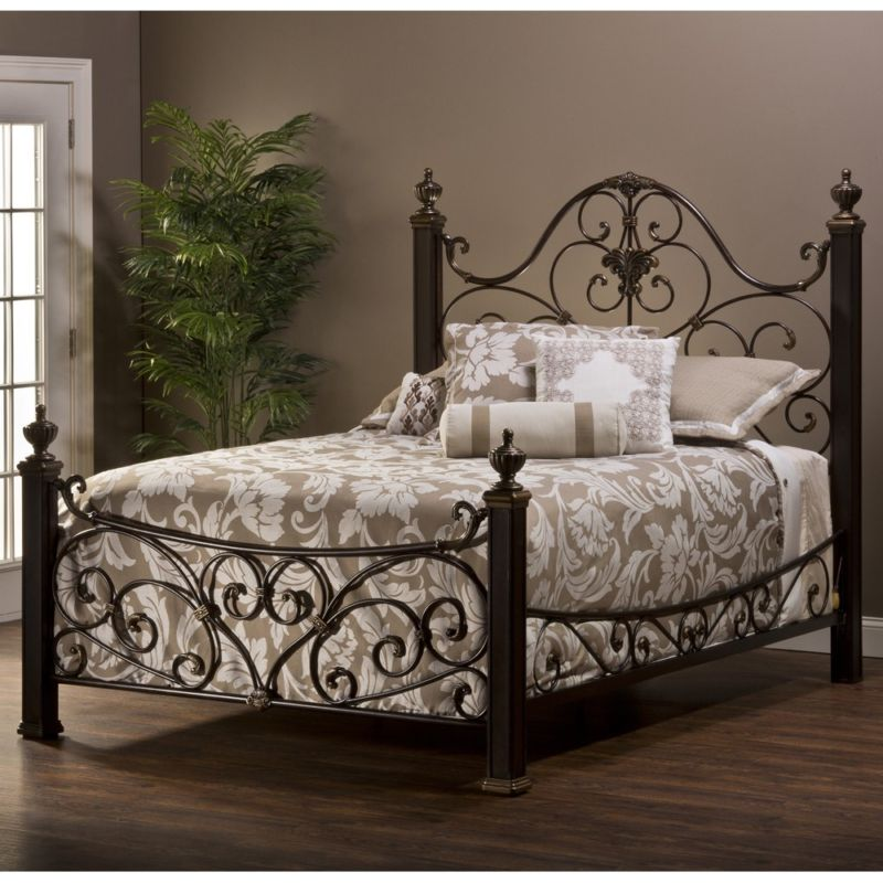 mikelson-mixedwoodiron-bed-agedantiquegold-hillsdale-zm1