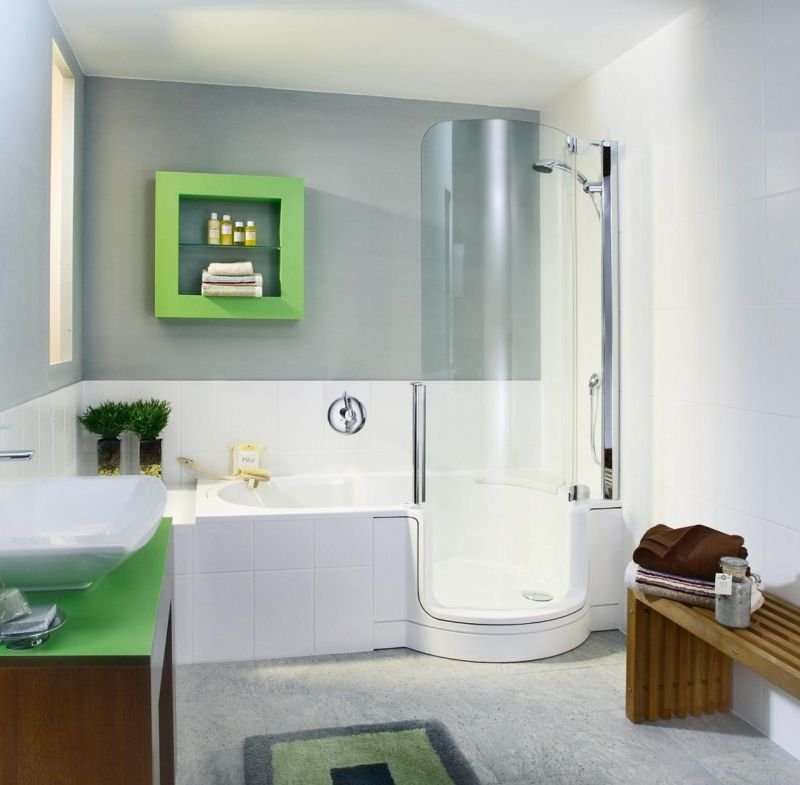 refreshing-bathroom-interior-design-of-elegant-bathroom-with-shower-bathtub-combo-in-futuristic-shape-wonderful-shower-tub-combo-inspiration-for-nifty-bathroom-in-contemporary-house-design