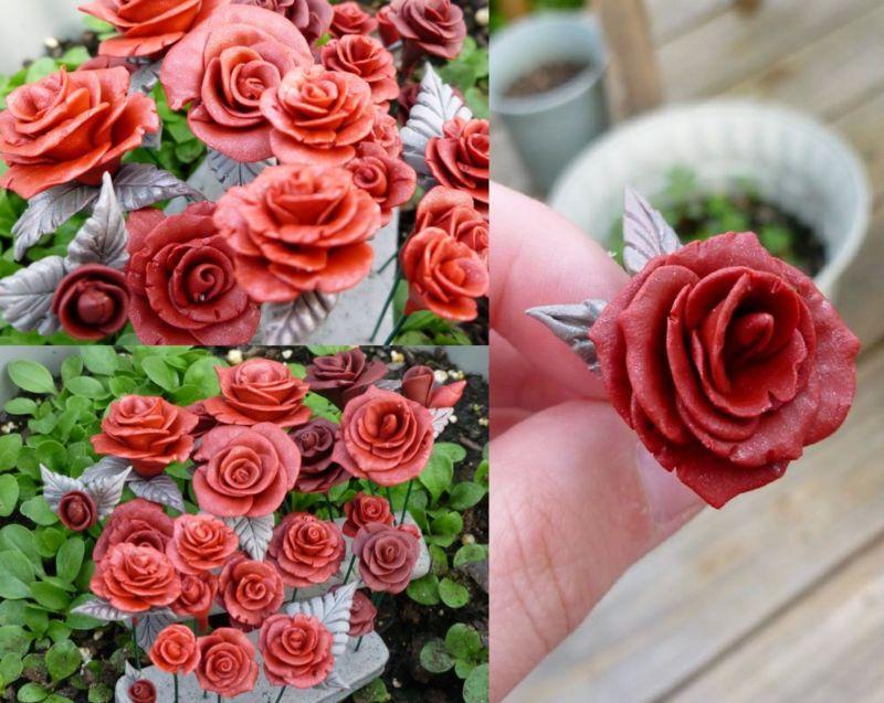 Розы_из_полимерной_глины