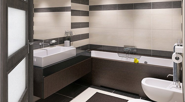 ремонт в ванной комнате совмещенной с туалетом