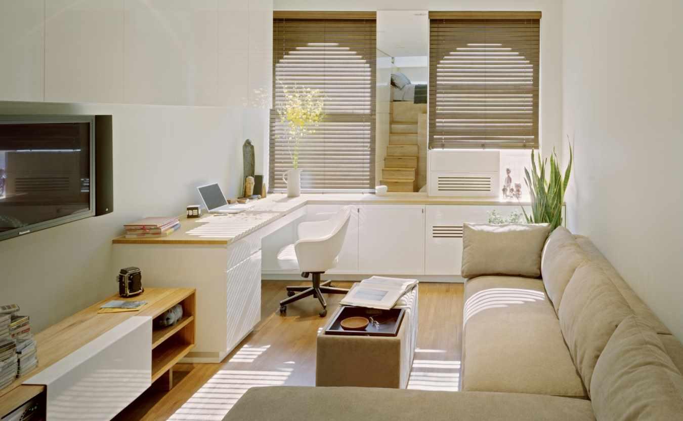 Дизайн маленькой узкой квартиры