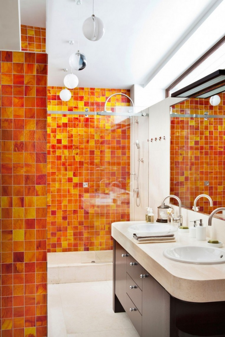 yellow-orange-mosaic-bathroom-wall-idea-bathroom-floor-to-ceiling-backsplash-bathroom-splashy-accent-wall-for-bathroom