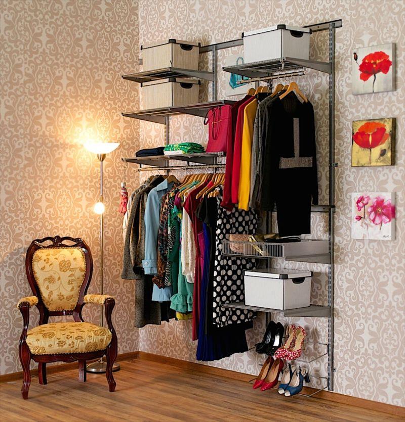 Гардеробная в квартире - фото нестандартных решений оформления в интерьере