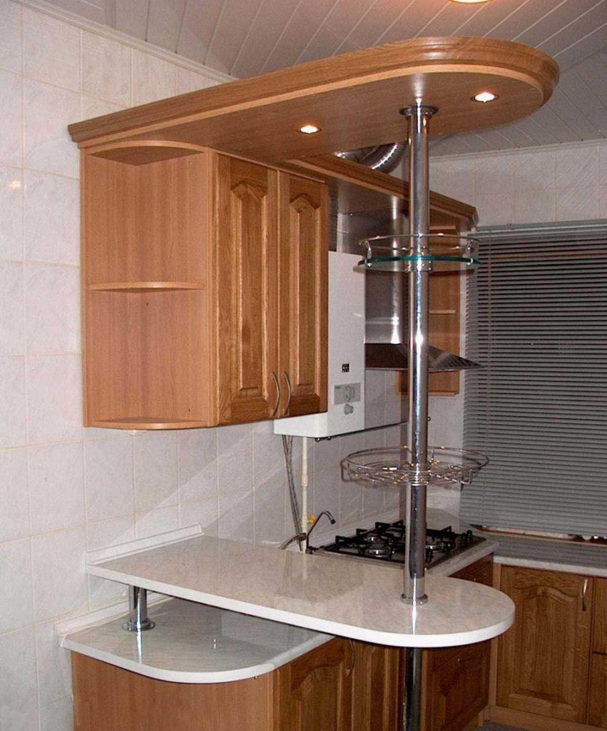 Барная стойка на небольшую кухню своими руками