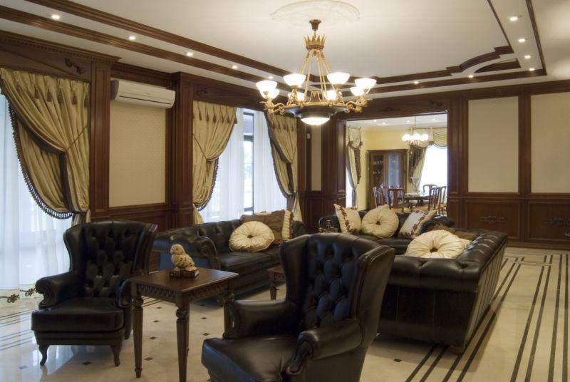 Гостиная в английском стиле