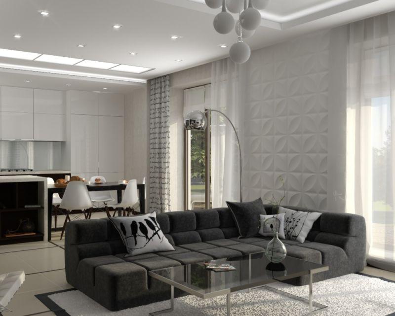 фото гостиной в стиле минимализм