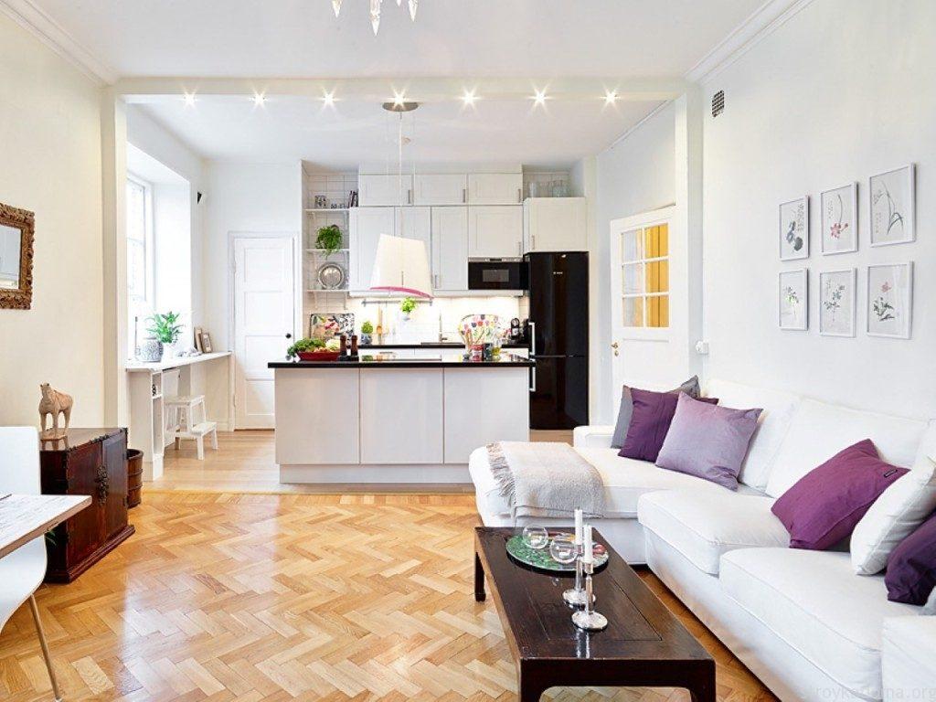 Интерьер кухни совмещенной с гостиной: дизайн кухни объединенной с ... | 768x1024
