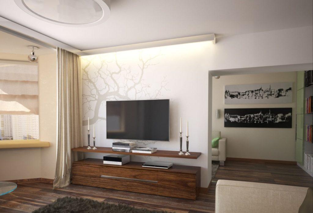 стенка минимализм для гостиной