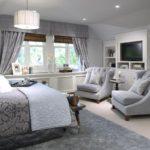 Большая спальня - фото необычных вариантов оформления интерьера