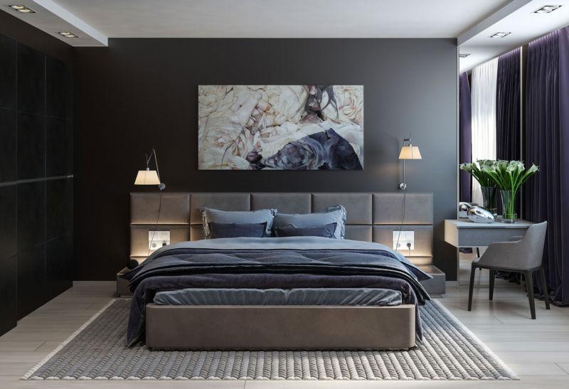 Дизайн спальни лучшие идеи 55