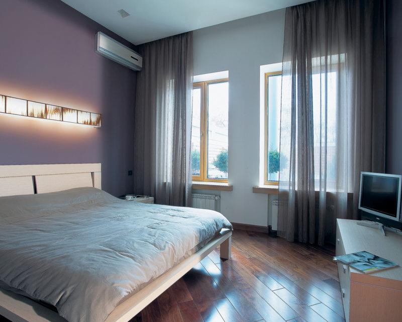 планировка спальни 12 кв м фото прямоугольная