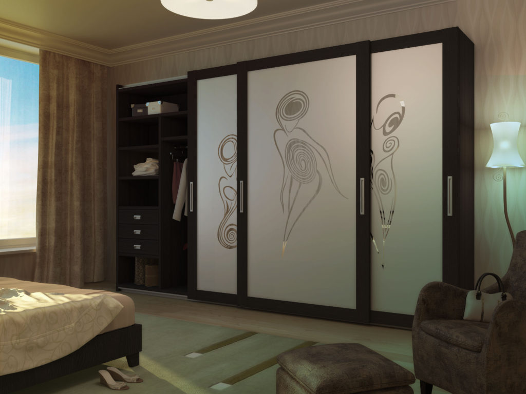 Шкаф купе в гостиную — 100 фото идей оригинального дизайна