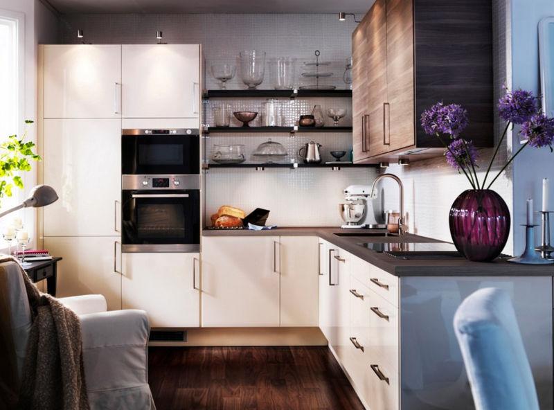 малогабаритный, кухня, фото, оформить, интерьер
