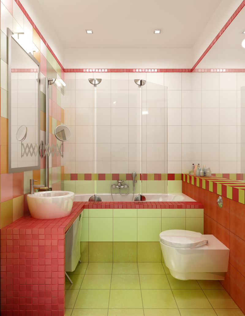 Самые Ярко Какой Ванная комната Самые Самые