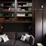гостиная, фото, строгий, интерьер