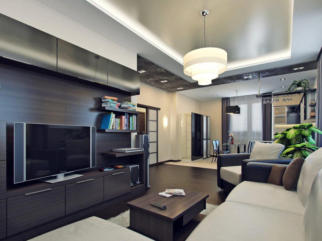 дизайн залов в квартире фото
