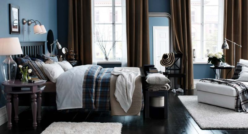 blue-brown-white-bedroom
