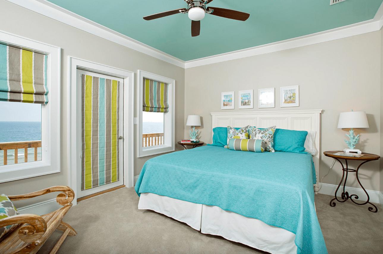 натяжные потолки фото для спальни матовые