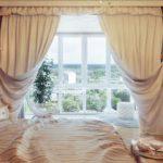 шторы спальня дизайн новинки