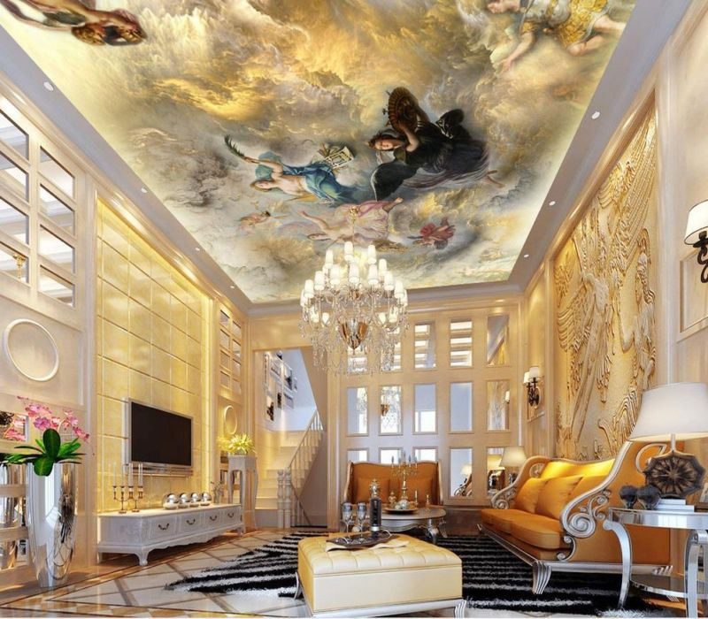 custom-ceiling-font-b-wallpaper-b-font-european-mythology-painting-murals-for-the-living-room-font
