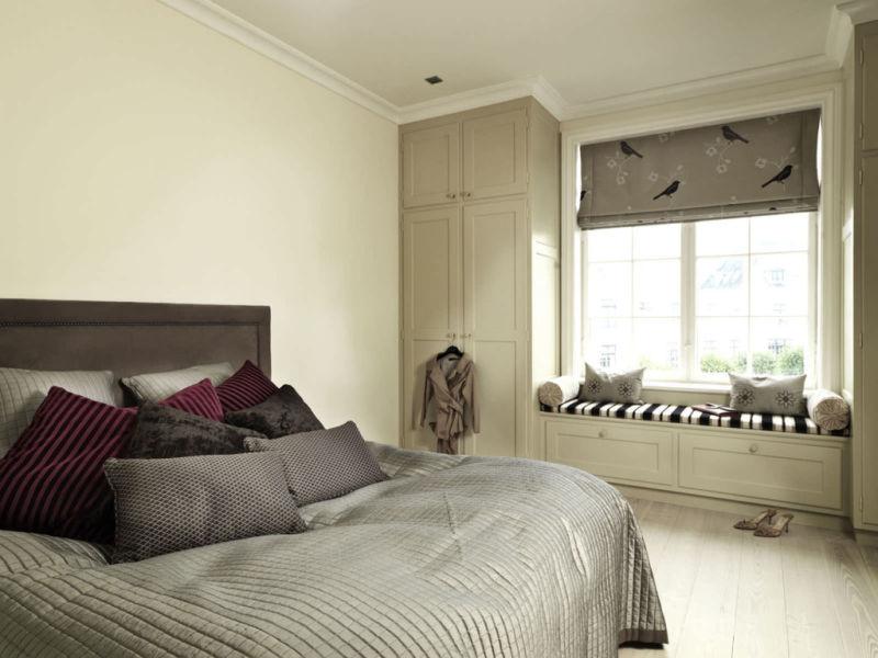 дизайн маленькой спальни 12 кв м фото