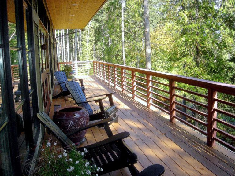 Дизайн балкона - 100 лучших фото идей оформления современног.