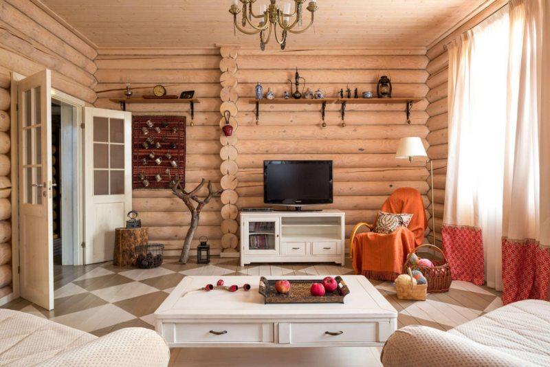 комната в деревенском стиле