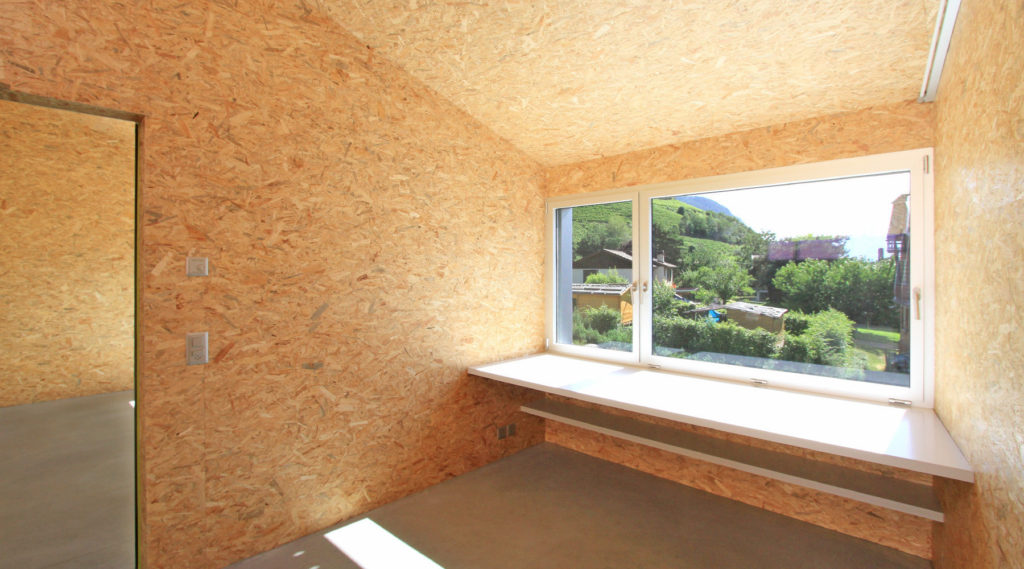 Внутренняя отделка стен осб