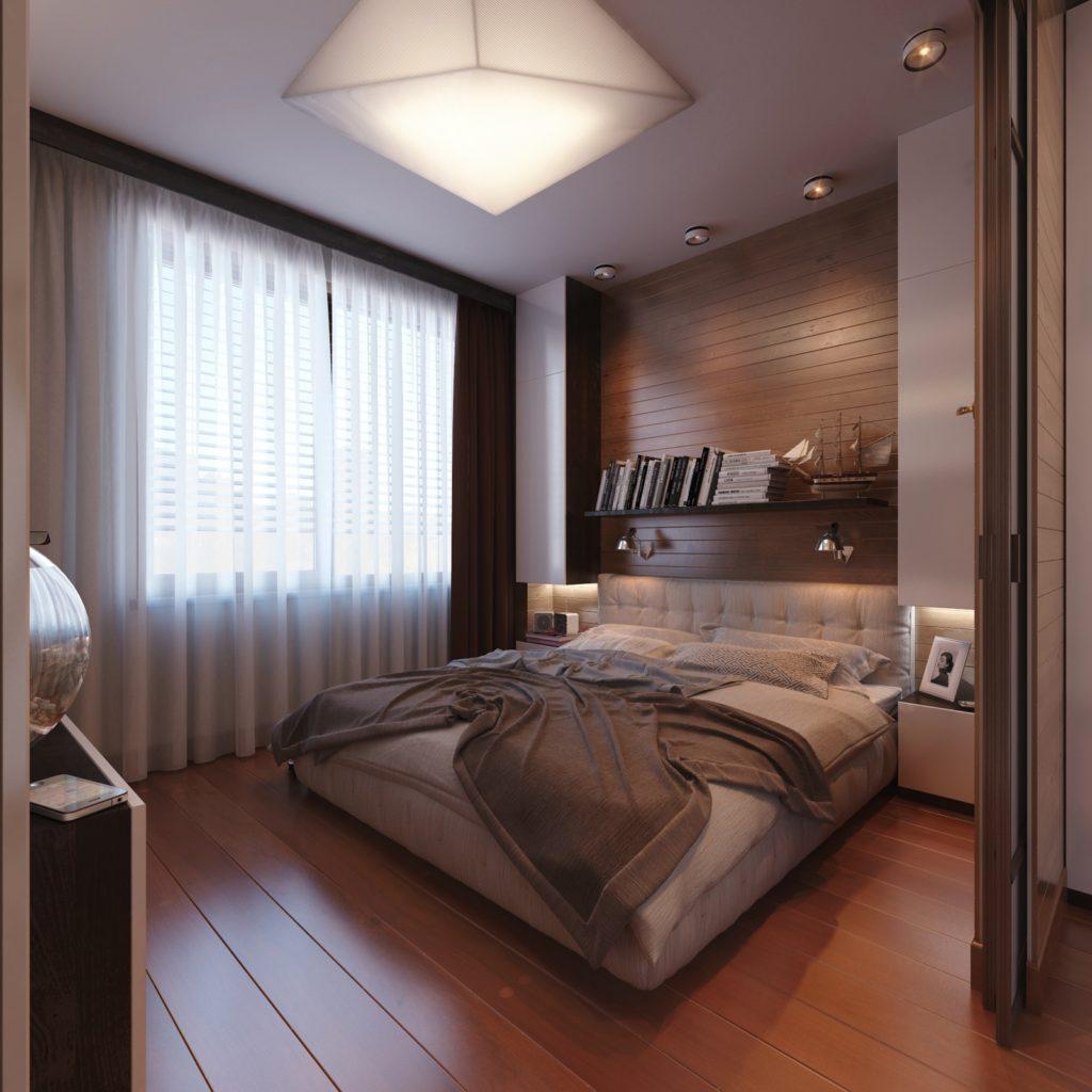 Интерьер спальни 12 кв метров фото