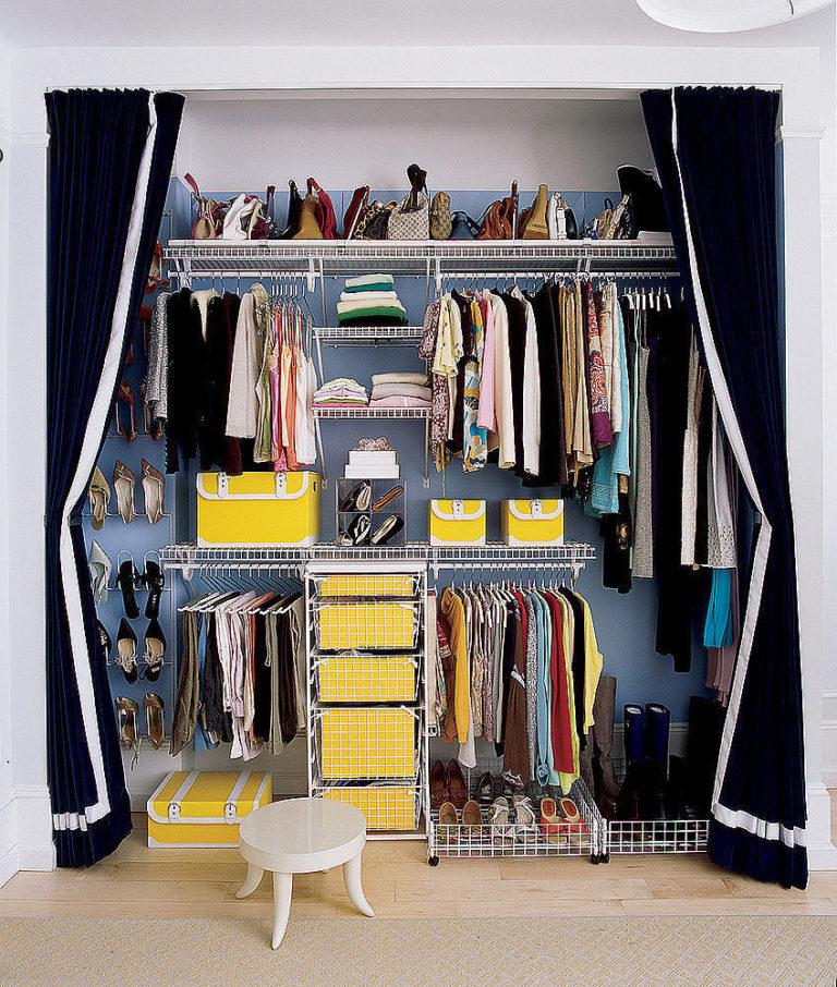 Расширяя пространство. делаем из шкафа гардеробную.