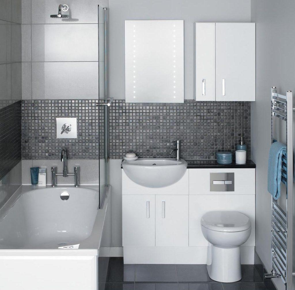 Ванная комната маленькая мебель Мойка кухонная Mixline ML-GM15 светло-розовый