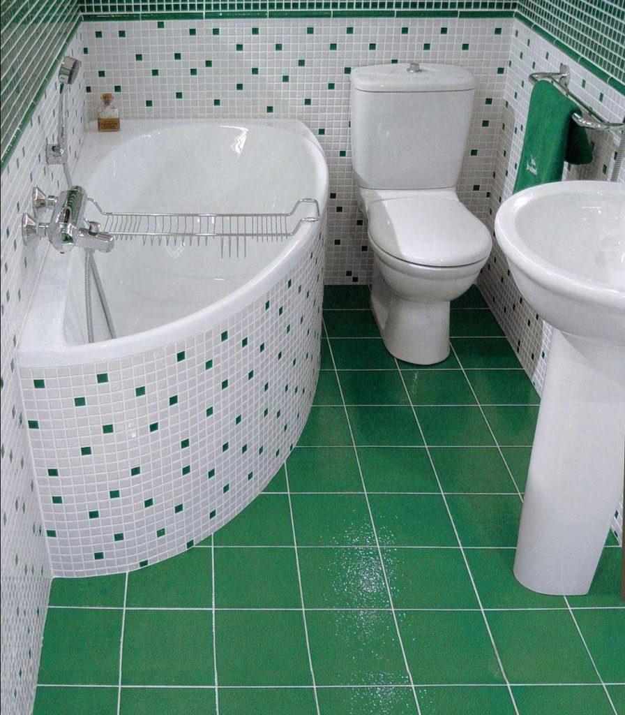 Маленькая ванная комната 16