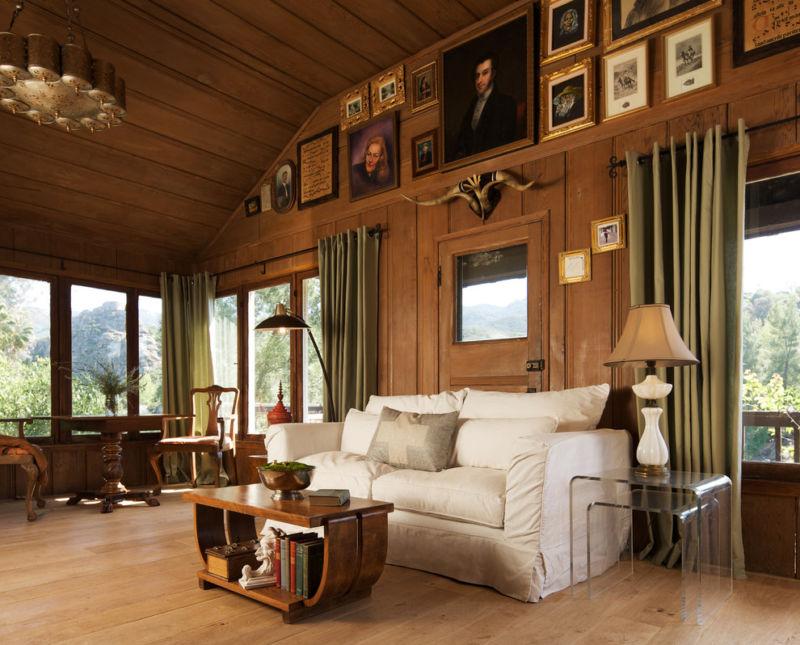 стильная гостиная в современном стиле
