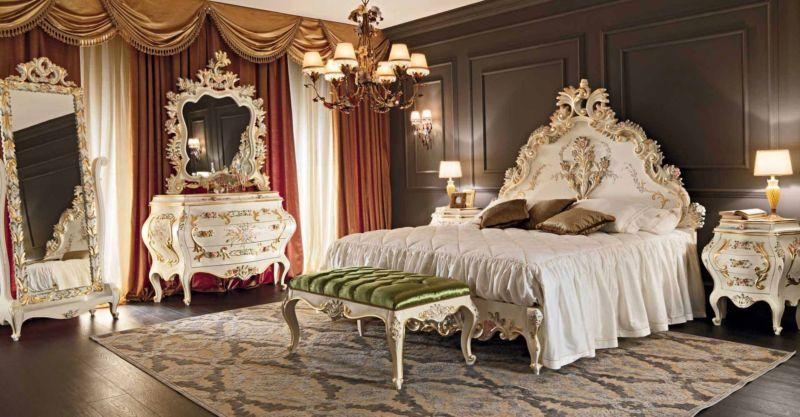 спальня, стиль, рококо, фото, интерьер, комнаты рококо