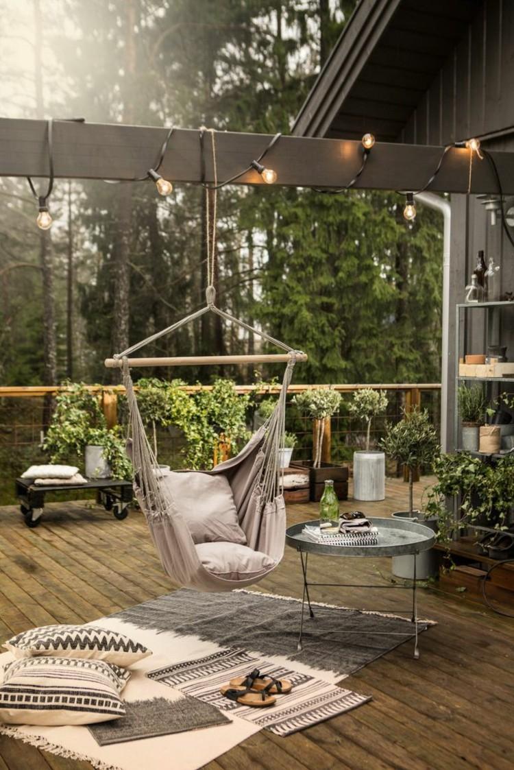 beautiful-balconies-fashion-balcony-furniture-set-ideas-swing