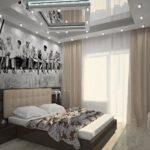 спальня, хрущевке, фото, дизайна