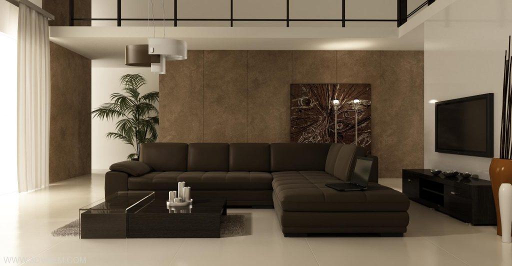 интерьер гостиной минимализм