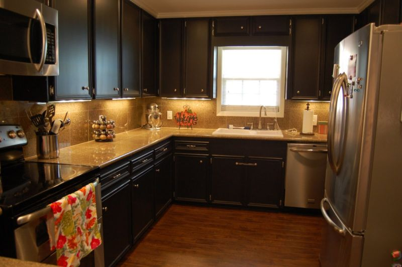 black-kitchen-cabinet-luxury-kitchen-gorgeous-painted-black-kitchen-cabinets-design-painting