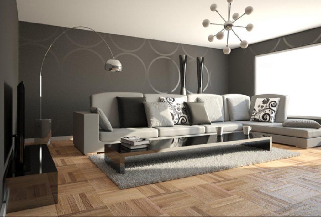 современная мебель для гостиной в стиле минимализм