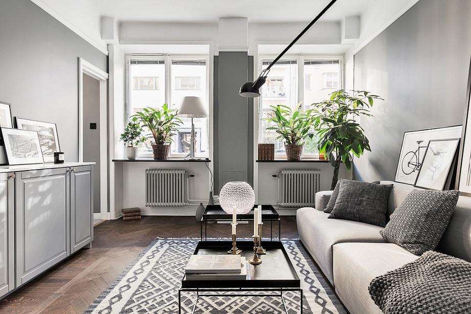 гостиная в минималистическом стиле