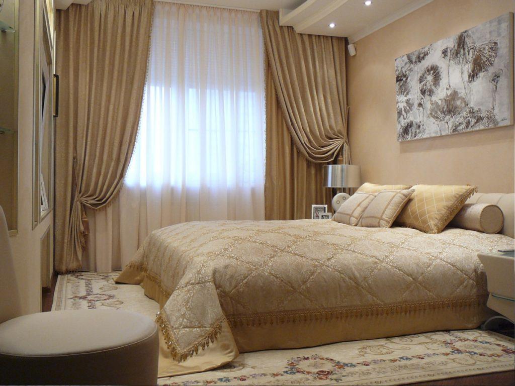 Шторы для спальни 3 цвета