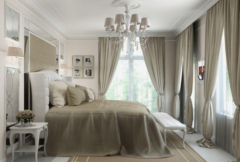 dizayn-klassicheskoy-spalni-v-bezhevyh-tonah-s-tremya-oknami